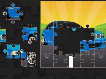 Speed Cars Jigsaw